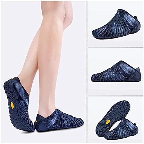 GJSC Vibram Fivefingers Vibram Furoshiki Original, Calzado Descalzo Envolvente Hombre/Mujer, Zapatos de Cinco Dedos Furoshiki E-42-43