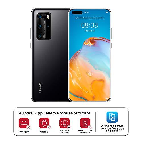 Huawei P40 Pro (Black, 8GB RAM, 256GB Storage)