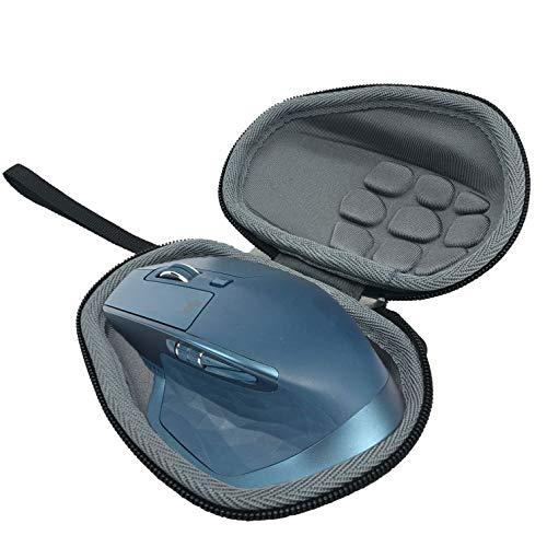 pequeño y compacto Flycoo Estuche rígido para Logitech MX Master / Master 2S, diseño de mouse con sonido, negro