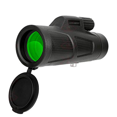 DFlampower 10x42 Monocular High Power Telescope Scope Compact Portable...