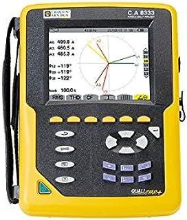 Chauvin CA8333 Arnoux - Analizador de alimentación para 3 puertos giratorios (1000 VAC, 6500