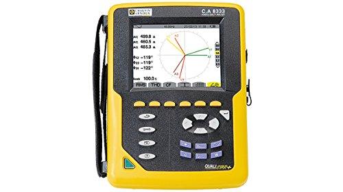 Chauvin CA8333 Arnoux - Analizador de alimentación para 3 puertos giratorios (1000 VAC, 6500 AAC)