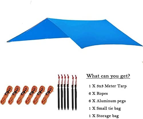 VUFP Outdoor 3Mx3M Ultralight 1 year warranty Sun Awn Shelter Today's only Waterproof Camping
