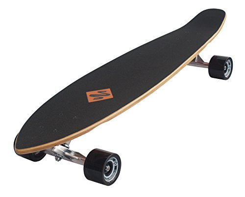 Streetsurfing Street Surfing Longboard Kicktail 36, Design: Damaged, 500236, Damage Orange