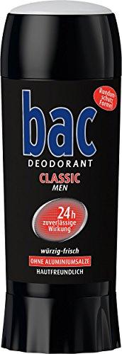Bac Classic Deo Stick, 6er Pack (6 x 40 ml)