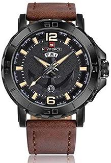ساعة كاجوال للرجال من نافي فورس 9122 B-Y-D.BN، انالوج بعقارب