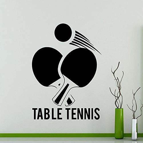 yaonuli muursticker sport tafeltennis vinyl stickers hoofddecoratie waterdicht wandafbeelding
