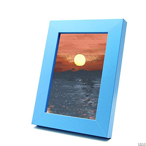 inShareplus Picture Frames 9x13 Soild Wood Photo Frames with High Definition Glass Display Pictures Photo Frame for Table Top Display Materials Presentation Storage