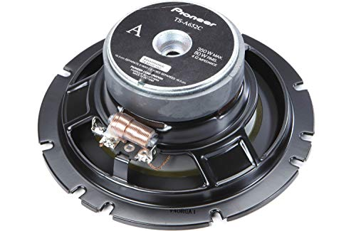 Pair Pioneer TS-A652C 6-1/2 Inch 350 Watts 2-Way 6.5 Car Component Speakers System with Carbon and Mica Reinforced IMPP Cones with Elastic Polymer Surround w/Free Alphasonik Earbuds