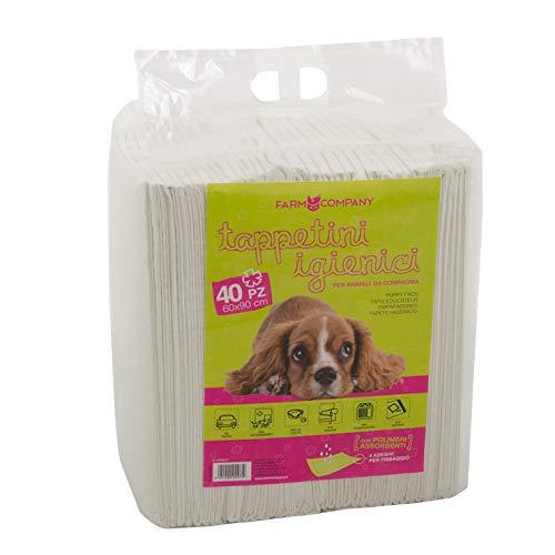 Pet Care 8051490255779 Teppichbeutel, Einheitsgröße, Weiß