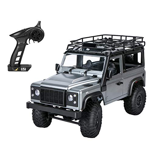 Goolsky MN 99s 2.4G 1/12 4WD RTR Crawler RC Car Fuoristrada per Modelli di Veicoli Land Rover 2 batterie