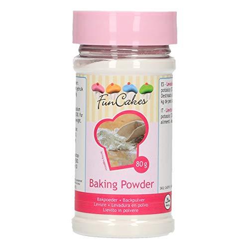 FunCakes Bakpoeder: Rijsmiddel voor Bakken. 80g. 80.00 g