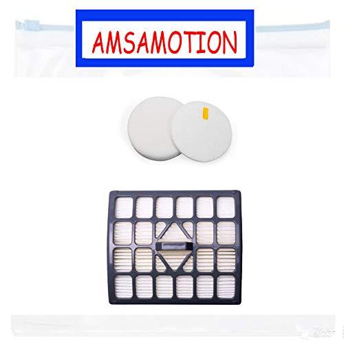 AMSAMOTION Filtre HEPA + filtre en coton pour Shark NV340 NV340UK NV340UKP NV340UKR NV341 NV341Q accessoires d'aspirateur