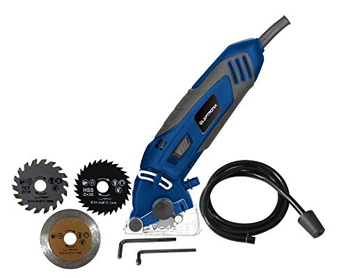 ToolTronix Mini Circular Saw Strong Tool 54.8mm with Wood...
