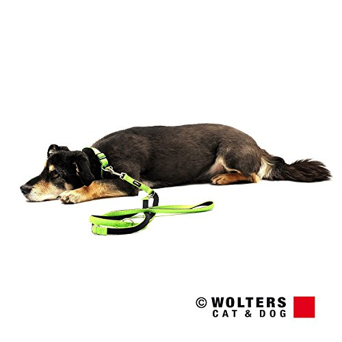 Wolters | Führleine Professional Comfort in Kiwi/Schwarz | L 200 cm x B 25 mm