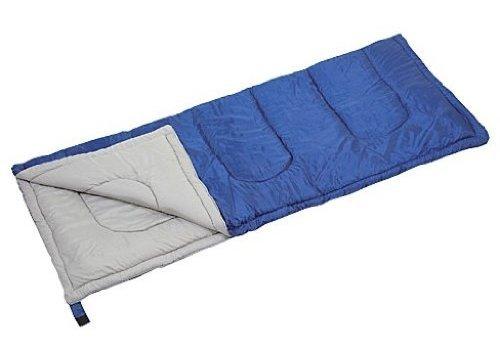 キャプテンスタッグ 寝袋 【最低使用温度15度】 封筒型シュラフ プレーリー 600 ネイビー M-3449