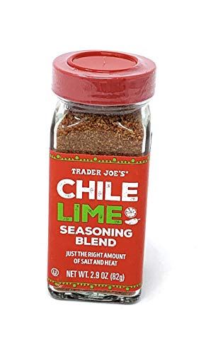 Trader Joe's Chile Lime Seasoning Blend 2.9 Oz, Pack of 1
