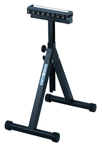 BS Rollen Rollst.Kombi Rollständer mit Tragrolle 350 mm und Kugelleiste, höhenverstellbar