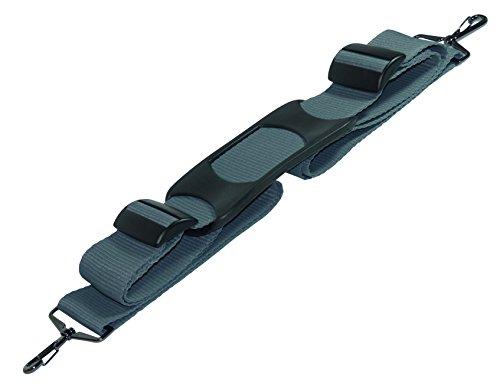 Benristraps Sangle d'épaule 50 mm avec Rembourrage d'épaule Gris 175 cm