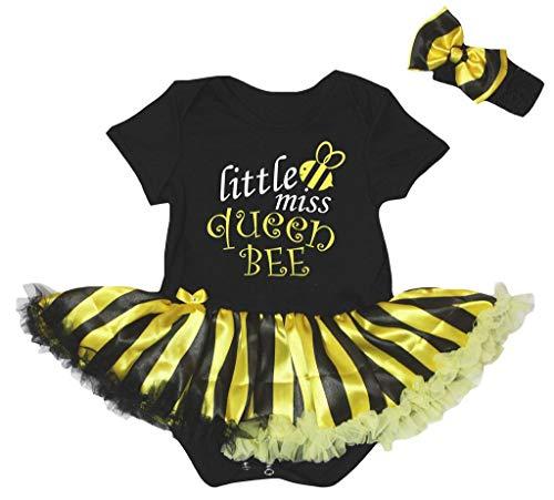 Petitebelle - Robe - Manches courtes - Bébé (fille) 0 à 24 mois Noir Noir - Noir - M