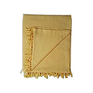 Riyashree Organic Cotton Silky Soft Bhagalpuri Dull chadar Quilt for All Season Queen Size ( 53 * 96 in ) GrRiCoDull 09