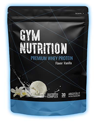 Premium Whey Protein - Eiweißpulver - Laborgeprüft - In Deutschland abgefüllt - Ernährungswissenschaftlern entwickelt (Delicious Vanilla)