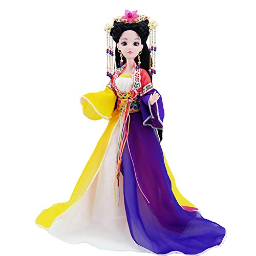 UR MAX BEAUTY Chinesische Puppe 12 Zoll Serie Puppe Antike Prinzessin Szene Dekoration,Fengziling