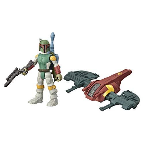 Star Wars Mission Fleet Gear Class Boba Fett Capture dans Les Nuages 6,3 cm Figurine et véhicule pour Enfants à partir de 4 Ans