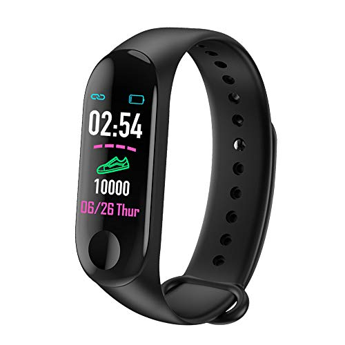 LUOLENG Smart Watch Fitness Tracker mit Blutdruck-HR-Monitor, Bluetooth-Sportarmband mit Kalorienzähler-Schrittzähler für Kinder, Frauen, Männer