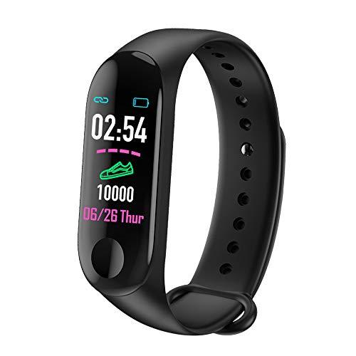LUOLENG Smart Watch Fitness Tracker mit Blutdruck-HR-Monitor, Bluetooth-Sportarmband mit Kalorienzähler-Schrittzähler für Kinder, Frauen, Männer