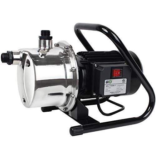 BACOENG 1200GPH 1.5HP Stainless Booster...