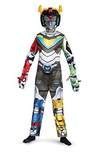 Voltron Classic Costume, Multicolor, Small (4-6)