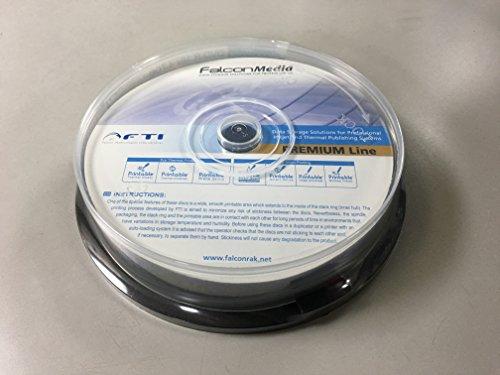 Falcon/ファルコン製プロ用DVD+R DLfor DATA インクジェット 10枚