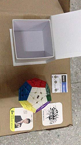 BTMING Heißer Fisher Time Wheel Cube 3x3x3 Magic Cube Professionala Text Creative Puzzle Speed Cubes Pädagogisches Spielzeug Geschenke (Farbe : Aohun stickerless)