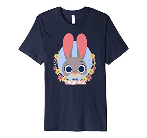 Disney Zootopia Judy Hopps Spring Wreath Premium T-Shirt