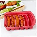 TOSSPER Silikon-backform Küchenhandgemachte Wurst-Hersteller Formenbau Ham Rack-ham Box Fleisch Geflügel Werkzeuge