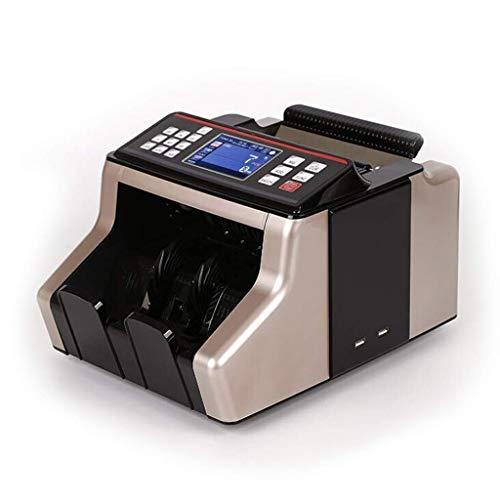 XHMCDZ Contatore del Bill Euro, IQD, INR, NPR Counterfeit Money Machine Detection Controriforma Cash Counter-Portatile valuta Banconote Conta Macchina