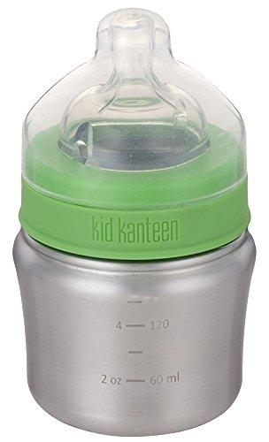 Klean Kanteen Kid Kanteen Babyflasche Langsamer Trinkfluss 148ml Kinder Brushed Stainless 2019 Trinkflasche