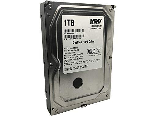 MaxDigitalData (MD1000GSA6472 – Disco Duro Interno para computadora de sobremesa (1 TB, 64 MB, 7200 RPM,…
