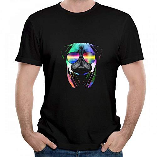 Écrit et réalisé par Quentin Tarantino Graphic Tee-Shirt Ras du Cou pour Homme, Noir, Grand