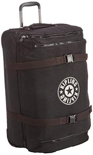 Kipling DISTANCE M Hand Luggage, 66 cm, 75 Litres, Black (Lively Black)