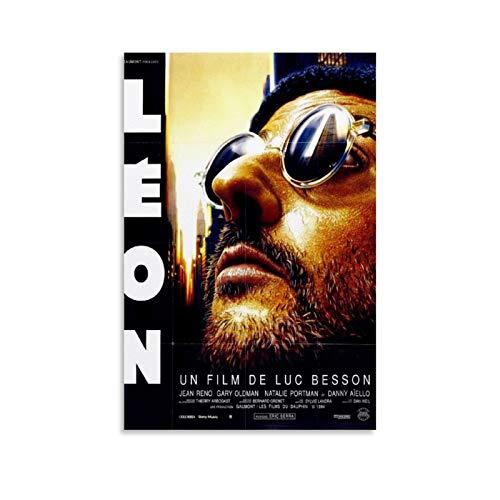 XIXILI Póster de la película profesional León The Professional Classic Movie, impresión...