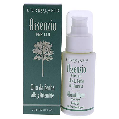 L'Erbolario Assenzio per Lui Olio da Barba con Tre Specie Artemisia