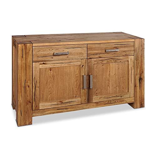 Mein Möbel Massivholz, Eiche, Braun