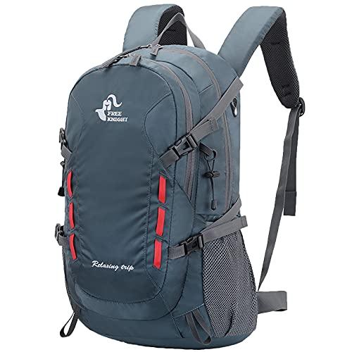 SKYSPER 30L Wanderrucksack Herren Damen Trekkingrucksäcke Wasserdicht Reiserucksack Multifunktionale Camping Rucksack Tagesrucksack Faltbare Leicht Outdoor Daypacks