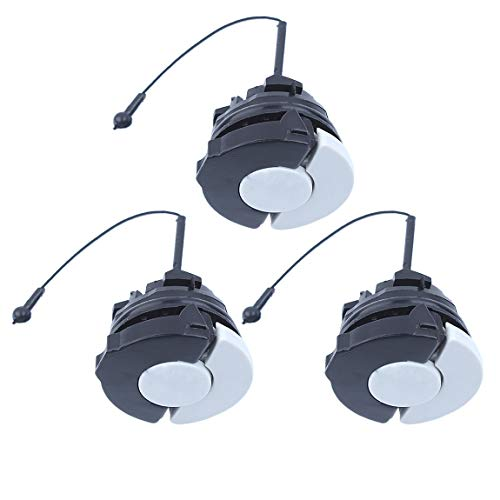 Haishine 3 x Gas Fuel Cap for STIHL MS192T MS200 MS250 MS290 MS380 MS390 MS440 MS460 MS880