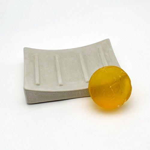 GUTMANN - DESIGN Seifenschale Seifenhalter Seifenablage aus Beton Stein handgemacht in Deutschland