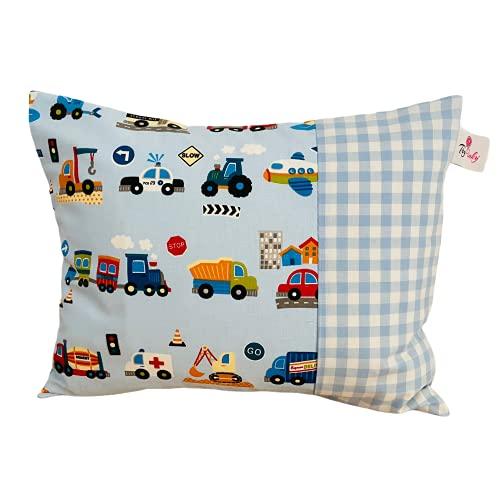 TryPinky Funda de cojín hecha a mano para niños, 30 x 40 cm, 100 % algodón, diseño 4