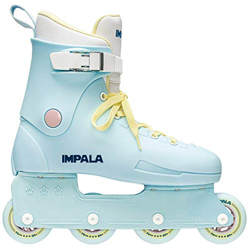 Impala Rollerskates Impala Lightspeed Inline Skate Sky Blue/Yellow 6 M