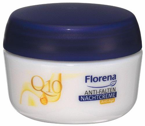 Florena Anti-Falten Nachtcreme mit Q10, 1er Pack (1 x 50 ml)